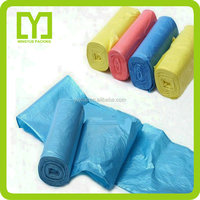 Top using good quality cheap packaging garbage bags with personalized colors