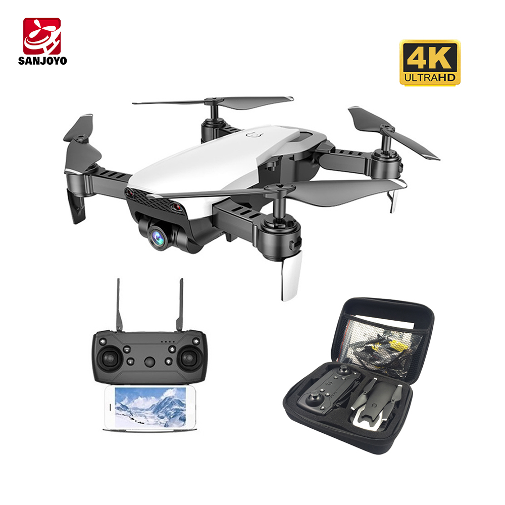SJY-Q1 FPV RC Drone 4K Camera Optical Flow Selfie Dron Foldable Wifi Quadcopter Helicopter VS VISUO XS816 SG106 SG700 <strong>X12</strong>