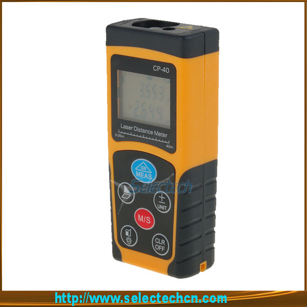 SE-MCP-40P Hot New sale thandheld double color housing Mini portable disto 40m mini cheap laser distance meter