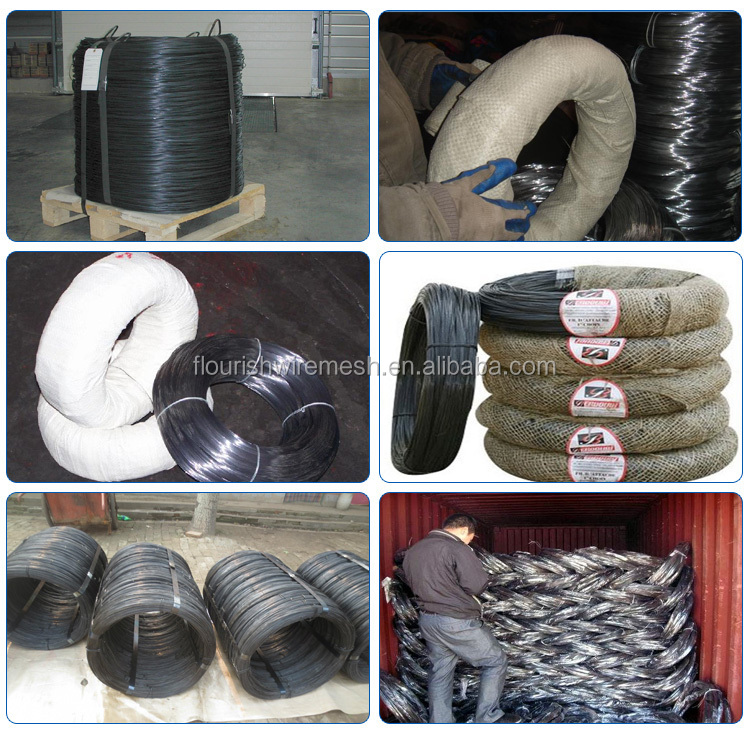 Alibaba china black wire / black iron wire / black annealed wire