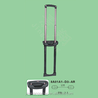Guangzhou JingXiang Telescopic Suitcase Handles Parts Trolley Handle Parts Accessory For Shopping Trolley Cart
