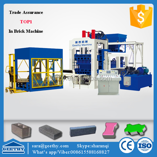 building construction tools and equipment QT10-15 cement brick making machine price in india