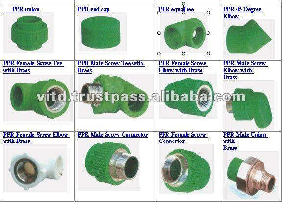 Tubos de ppr outros materiais de constru o de pl sticos - Tuberias de ppr ...