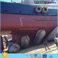 Yokohama Type Floating Foam Filled Rubber Fenders with CCS and ISO 17357