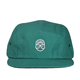 green hemp low profile 5 panel hat cap hguchi