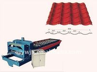 Antique Plant For Metal Glazed Roof Tile Making Machine