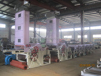 Knitted fabric waste recycling machine for yarn spinning