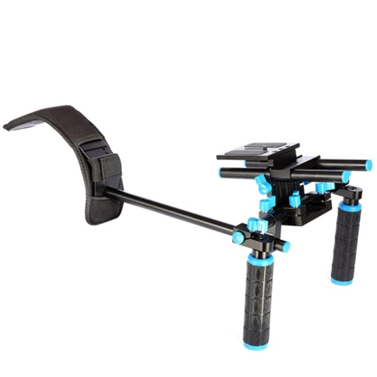 Pro Shoulder Mount DSLR Rigs Video Camcorder Stabilizers Camera Follow Focus for Canon 5D II III For Nikon D7200 Steadicam 0102A