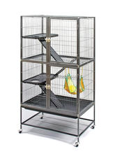 Guangzhou 3 Levels Big Metal Ferret Chinchilla Hamster Pet Cages
