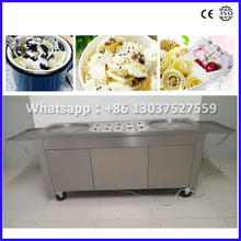 Fried Ice Cream Machine/Frying Ice Cream Machine/ Thailand Fry Ice Cream Machine