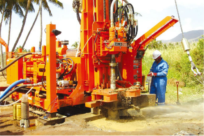 Waterwell Drilling Rig