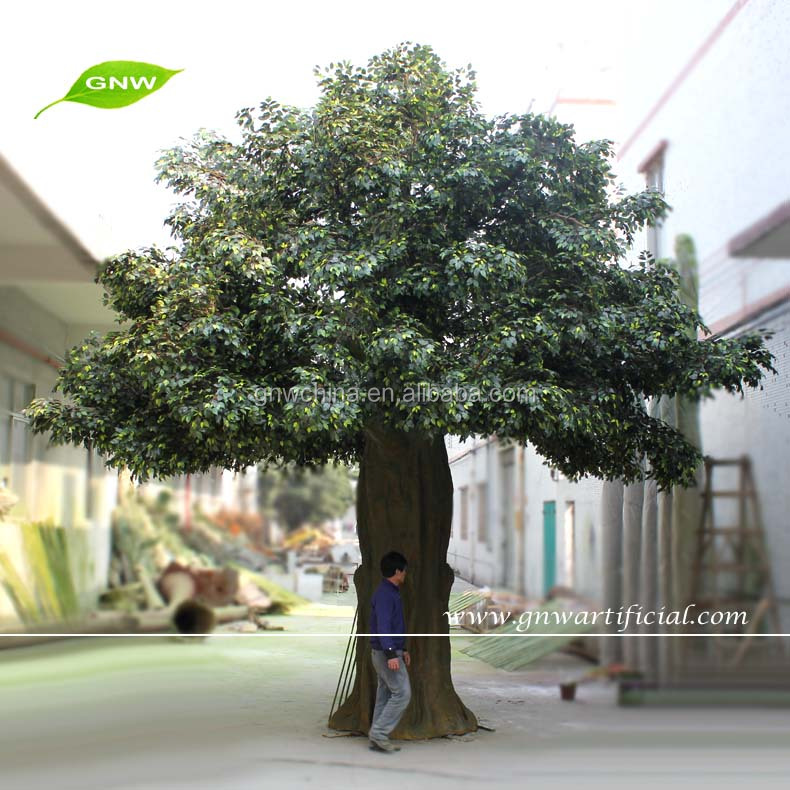 GNW BTR011-7 artificial big banyan tree plastic banyan tree for sale