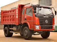 Dongfeng 4x2 130hp cheap mini 10m3 2 ton sand tipper truck for sale