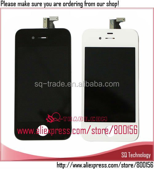 Hot Product New Original Mobile Phone LCD for iPhone 4S LCD Screen Display Complete + Touch Digitizer Assembly