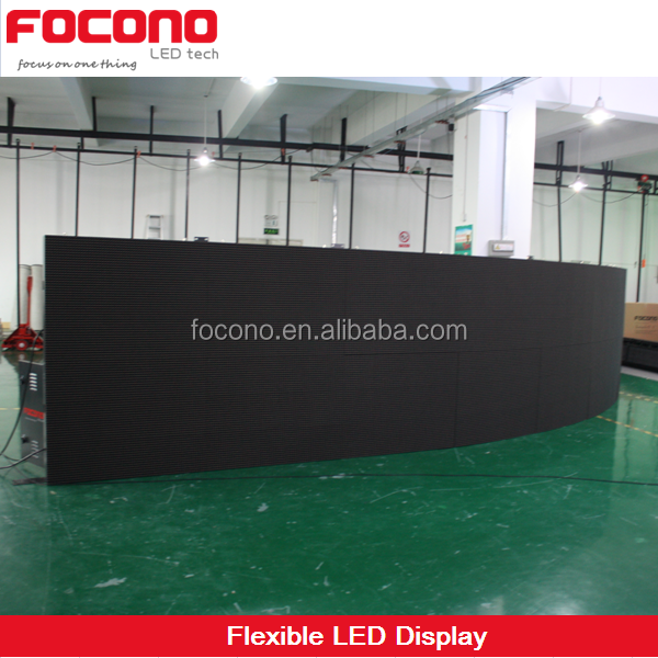 8 Years Warranty Custom Size LED Video Wall Full Color Led TV Display Panel