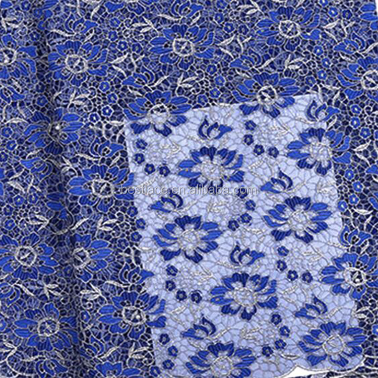 Ladies Dress Material Wholesalers African Net Embroidery Lace Dress Fabric