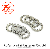 High Quality made in China 304 stainless steel external tooth Lock Washer