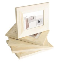 Ready to Paint DIY Picture Frames Unfinished Wood 5x7 inches