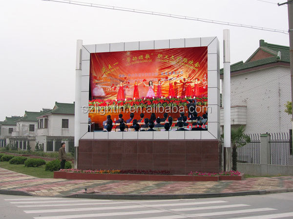 Fixed /Rental Outdoor Advertising LED Display P20 Full Color Message Outdoor LED Screen