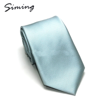 Hot-sale 100% silk woven fashion classical men custom logo solid neck ties