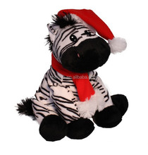 Christmas Toys Plush Toy Manufacturer Stuffed Animal Zebra