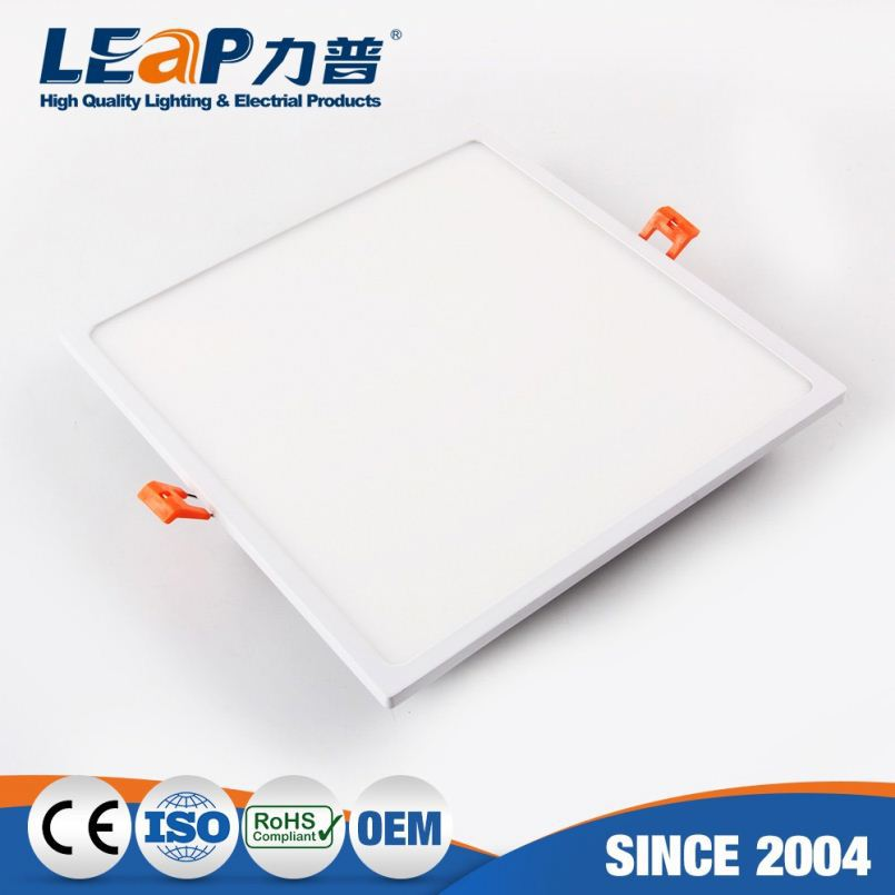 6 Inch 22W Super Thin Square Embedded Home Led Panel Lights Roof Ceiling(White Side Light-Emitting)
