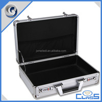 MLD-AB76 Beauty Silver Suitcase Aluminum Tool Box for Laptop