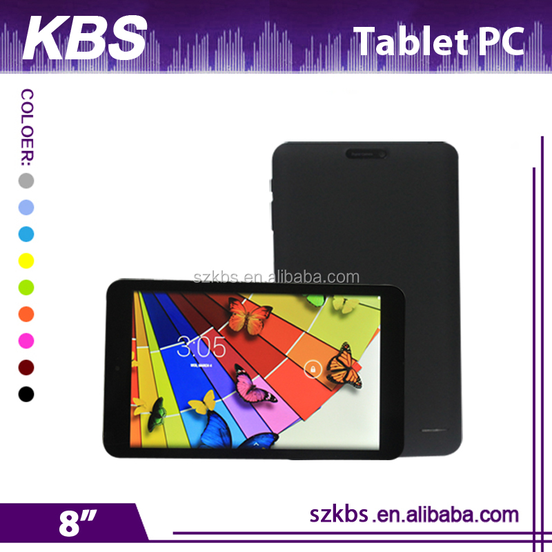 Hot sale bluetooth wifi quad-core tablet 8 inch