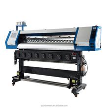 factory price 1.8M width dx5 printhead textile sublimation flag printer for textile clothing