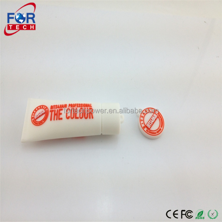 Promotion Singapore Hot Electronics Corporate Gifts Items USB 2.0 Toothpaste USB Flash Drives with Custom Logo