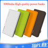 2016 Alibaba Newest Portable 8000mAh Power