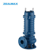 Double Channel Impeller 2Hp Submersible Water Pump