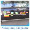 country flags promotional pvc water proof magnetic paiting car sticker