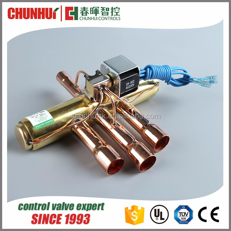 Air Conditioner 4 way reversing valve, refrigeration reversing valve