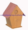 2014 cheap lovely wooden bird house indoor wholesale