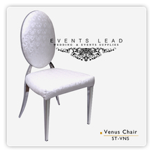 Venus Stainless Steel Chair For Wedding Decoration