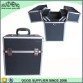 Hot selling Black Aluminum Cosmetic Case