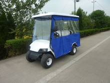 4 seat enclosed golf cart with rain cover(gas power or electric power for choice)
