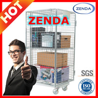 Warehouse Roll Cage Trolley Roll Container