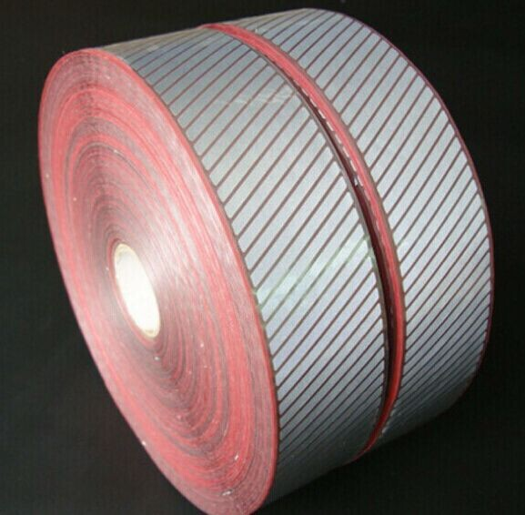 Highly visible 3M 5510 reflective warning tape