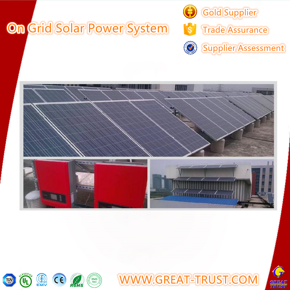Professional solar power on grid renewable energy system for 10kw without battery with great price