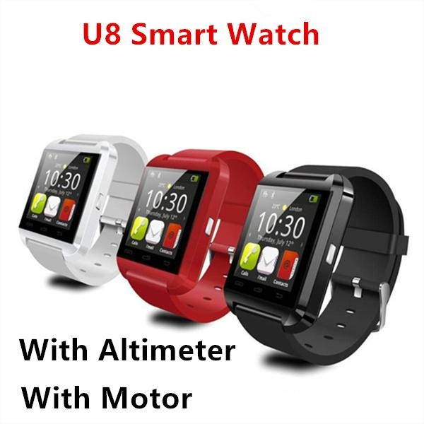 Top 10 selling cheap mobile phone watch U8 hands free smartwatch colorful android smartwatch