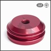 chinese wholesale red anodize custom cnc motorcycle spare parts