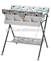 Best protection and care EN12221 approved Baby changing table with bath tub