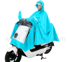 Motorcycle raincoat printing logo clear women / men adult colorful pvc poncho