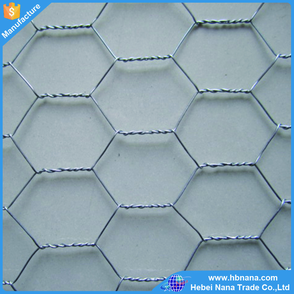 galvanised poultry wire mesh / fish pot wire / galvanized net