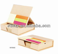 Recycled Memo pad with sticky note