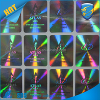 2016 Amazing 3D Rainbow Color Hologram Stickers Labels ID Card With Serial Numbers