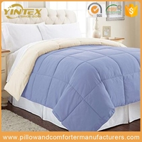 All Season Comforter With 100% Cotton Covered 100% microfiber polyester Quilts Queen 87x90 Inches