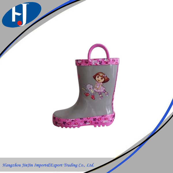 Environmentally-friendly materials cheap pvc children boots